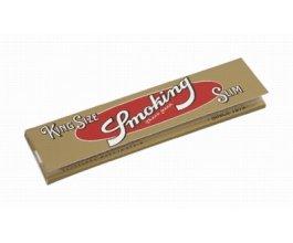 Papírky SMOKING GOLD SLIM King Size, 33ks v balení